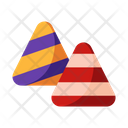Candy Corn Candy Sweets Icon