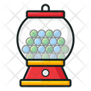 Candy Dispenser Gumball Machine Candy Balls Icon