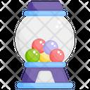 Gumball Machine Candy Dispenser Entertainment Icon