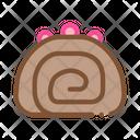 Pie Roll Creamy Icon