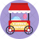 Cotton Candy Candy Candy Shop Icon