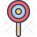 Candy Stick Confectionery Lollipop Icon
