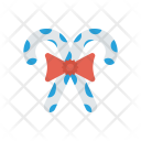 Candy Stick Ribbon Icon