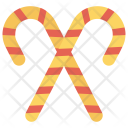 Cane Sweet Candy Icon