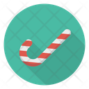 Cane Candy Toffee Icon