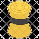 Cane Stool Cane Furniture Bombo Stool Icon