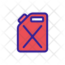 Canister Car Tools Icon
