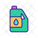 Petrochemical Oil Canister Icon