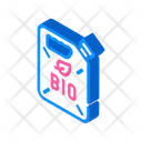 Canister Bio Fuel Icon