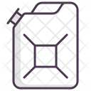 Canister Diesel Fuel Icon