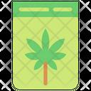 Cannabis Bag Icon