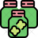 Cannabis Bottle Icon