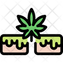 Cannabis Brownie Icon
