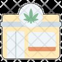 Cannabis Calendar Icon