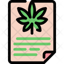 Cannabis  Document Icon