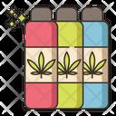Cannabis Drinks Icon