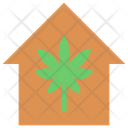 Cannabis House Icon