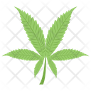 Cannabis Leaf Herbs Leaf Icon