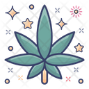 Cannabis Leaf Hemp Leaf Marijuana Icon