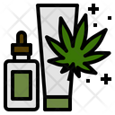 Cannabis Lotion Cream Icon
