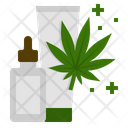 Cannabis Marijuana Products Icon