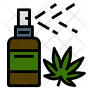 Cannabis Mouth Spray Icon