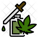 Cannabis Oil Marijuana Icon