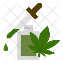 Cannabis Marijuana Oil Icon