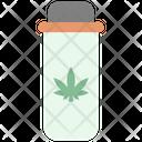 Cannabis Pill Bottle Icon