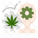 Cannabis Marijuana Effect Icon