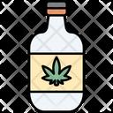 Bottle Cannabis Cannabidiol Icon