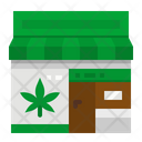 Cannabis Shop Marijuana Shop Marijuana Icon