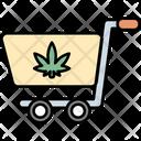Cart Cannabis Cannabidiol Icon