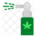 Cannabis Spray Marijuana Inhaler Cannabis Icon
