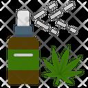 Cannabis Marijuana Spray Icon