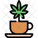 Cannabis Tea Icon