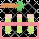 Cannabis Test Tube Icon