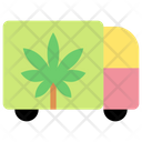 Cannabis Truck Icon