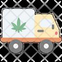 Cannabis Truck Icon