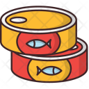 Canned Goods Fish Icon