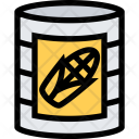 Canned Corn Food Icon