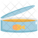 Canned Fish Seafood Icon