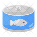 Canned Fish Tuna Seafood Icon