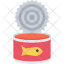 Canned Fish Seafood Can Icon