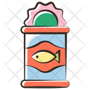 Canned Meat Tuna Icon