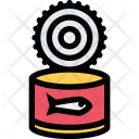 Canned Fish Food Icon