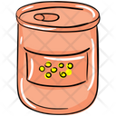 Canned Food Preserving Food Tinned Food Icon