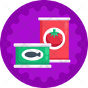 Canned Food Seafood Food Icon