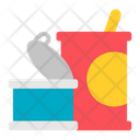 Tin Can Food Canned Icon