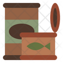 Canned Food Tin Pack Instantfood Icon